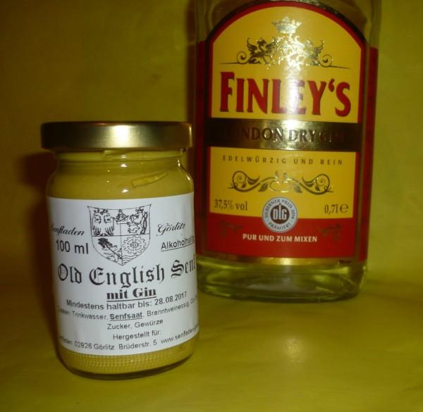 Old English Senf mit Gin 100ml