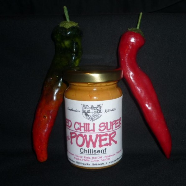 Chili Senf RED CHILI SUPER POWER 100 ml