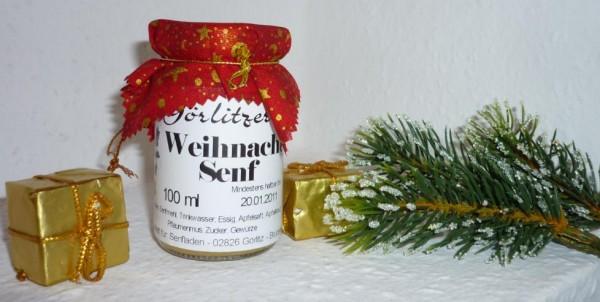 Görlitzer Weihnachts Senf 100ml