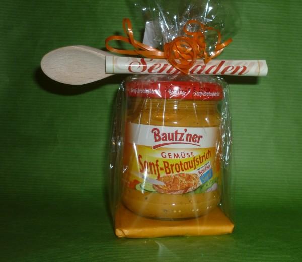Bautzner Senf - Brotaufstrich -Gemüse - in Geschenkverpackung