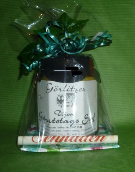 Geburtstags - Senf für IHN i.Geschenkverpackung