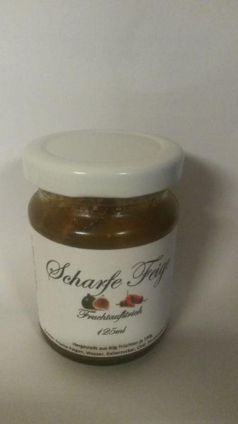 Feigen Fruchtaufstrich 125 ml pikant süß angenehm scharf