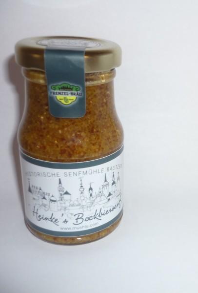 Bautzener HammerMühlen Bockbier-Senf halbgrob 100 ml
